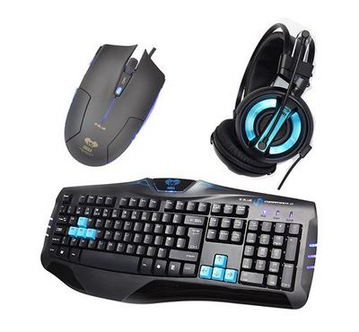 Cobra Professional Gaming combo (KBD + MOUSE + HEADPHONE)