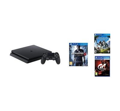 Sony PS4 500GB bundle with 3 Games and 90 days card