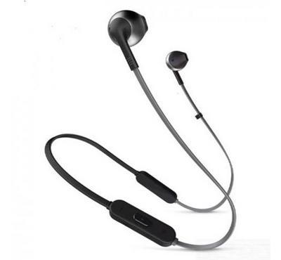 JBLT205BTBLK--JBL T205 Wireless Earphone, Black