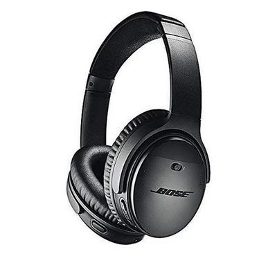 Bose QuietComfort 35 Series II Wireless Noise Cancelling Over-Ear Headphones Black