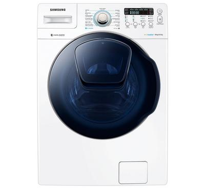 Samsung Front Load Washing Machine,16 Kg/ 8.5 Kg, white