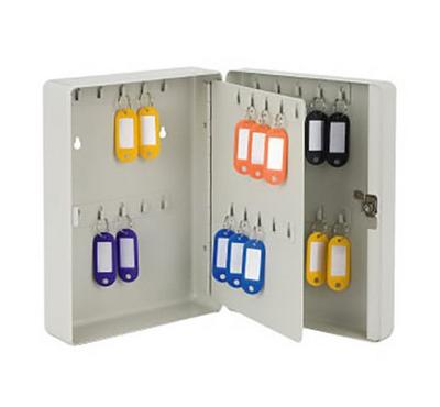 SR Key Box with Lock, Wall Mounting, Metal