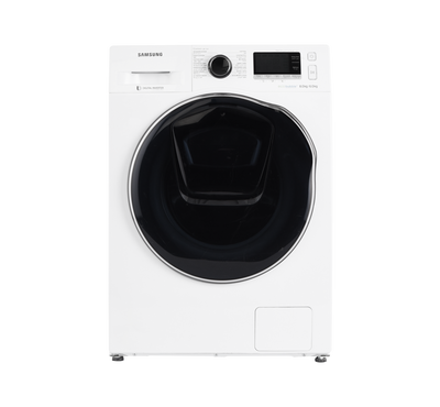 Samsung Front Load Fully Automatic Washer/Dryer Combo, 8kg/6kg, white