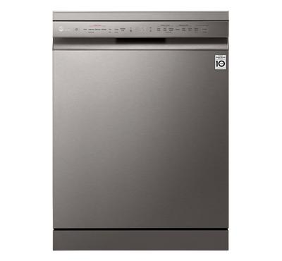 LG Quad Wash Steam Dishwasher 14 Dishes Place Settings Dishwasher,Silver