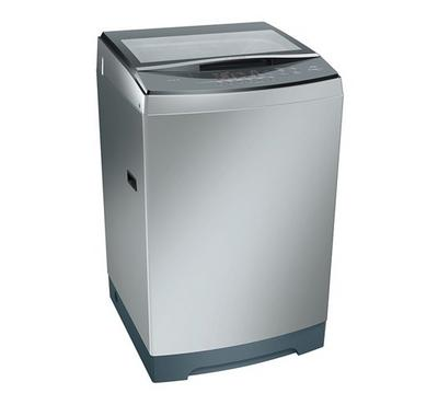 Bosch Series 4 10KG Top Load Washing Machine Silver