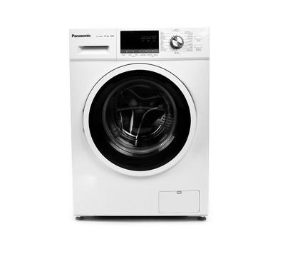 Panasonic Front Load Fully Automatic Washer, 7kg,  Abaya Wash, 1200 RPM, White