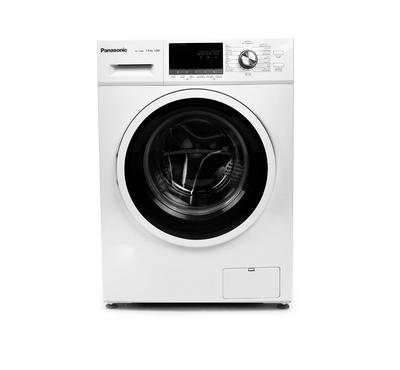 Panasonic Front Load Washer, 7kg,  Abaya Wash, 1200 RPM, White