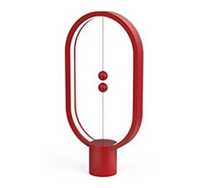 Allocacoc Heng Balance Lamp Ellipse USB, Red