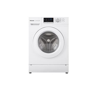 Panasonic Front Load Washer, 8kg, 1200 RPM, 12 Programs, Child Lock, Color white
