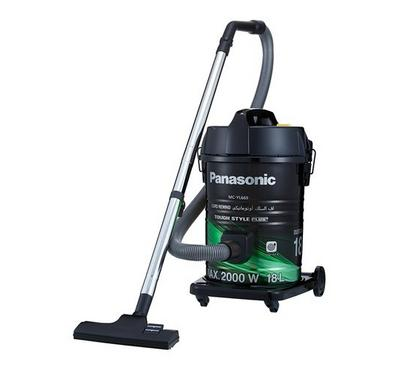 Panasonic Vaccum Cleaner, 2000W,  18L, Long Reach 8m Cord, 2-Step Nozzle