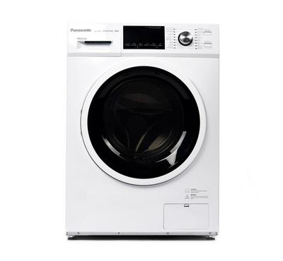 Panasonic Front Load Washer Dryer 12kg / 8kg, INVERTER, 1400 RPM, 16 Programs, White