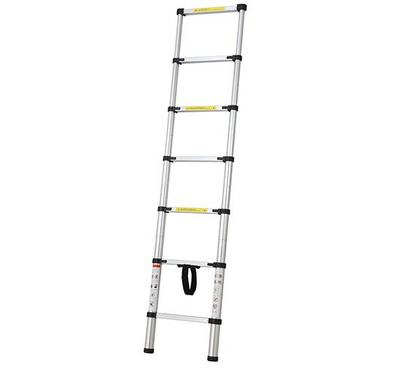 HOMEZ Aluminum Telescopic Ladder 7 Rung