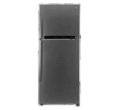 LG Refrigerator, 15.4 Cu.ft Smart ThinQ, Inverter Linear Compressor, silver