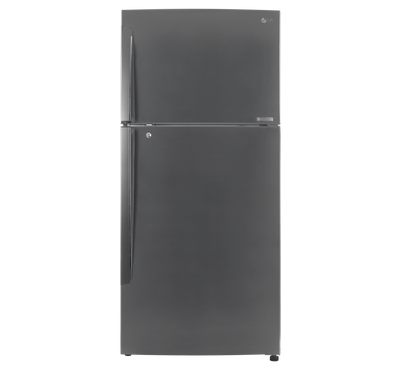 LG Refrigerator, 16.9 Cu.ft, Bar Handle, Multi Air Flow, Linear Compressor, Color Silver