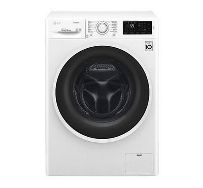 LG Front Load Washer, 8KG, White