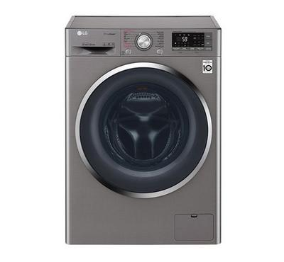LG Front Load Washer, 9KG, Silver