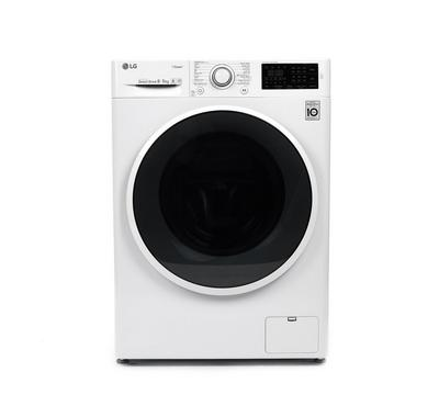 LG Front Load Fully Automatic Washer/Dryer, 8KG/5KG, White