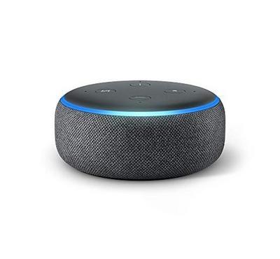 Amazon Echo Dot  Speake, 3rd Gen Charcoal Fabric