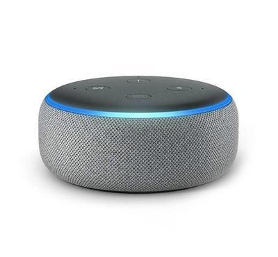 Amazon Echo Dot  Speake, 3rd Gen heather grey Fabric