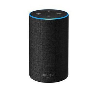امازون ايكو الجيل الثاني مكبر صوت مع اليكسا الذكية - لون فحمي
