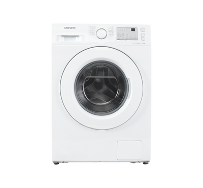 Samsung Front Load Washer,7KG, White