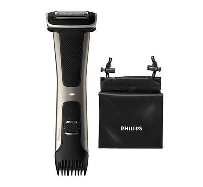 Philips, High End Dual Sided Bodygroomer, Black