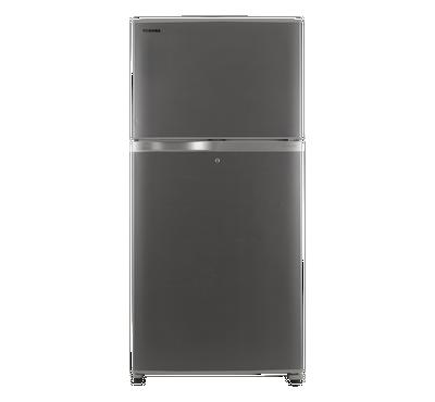 Toshiba Inverter Refrigerator, 19.6 Cu.Ft,Bright Stainless Steel