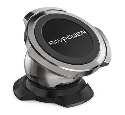 RAVPower Magnetic Car Phone Mount, Black