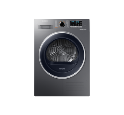 Samsung 9 kg Dryer with Reversible Door Inox