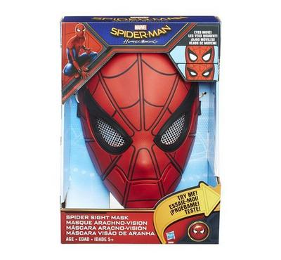 Hasbro Spider Sight Mask Red