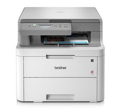 Brother 3-in-1 Color Laser Printer Wireless 18ppm White