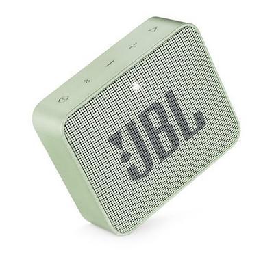 JBL GO2 Bluetooth and Portable Speaker, Mint