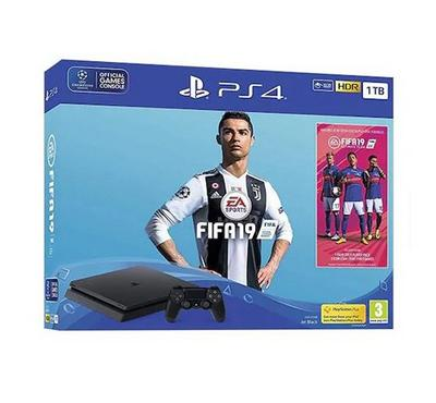 Sony PS4 1TB Console with FIFA19 Game