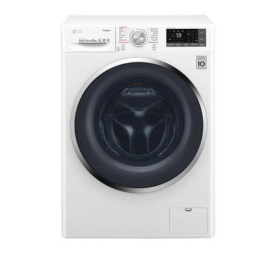 LG 9kg 1400rpm Front Load Washing Machine White