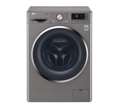 LG 9kg 1400rpm Front Load Washing Machine Stainless steel