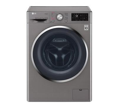 LG 7 and 4kg 1200rpm Washer Dryer Stainless steel