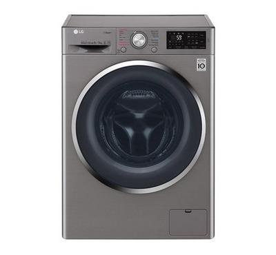 LG Washer 8kg, Dryer 5kg, Front Load, 1400 RPM, Stainless steel