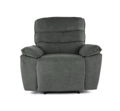 HOMEZ Manual Recliner Armchair 108 x 96 x 100 Dark Grey