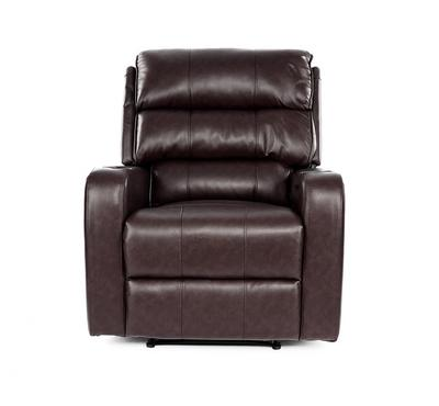 HOMEZ Electric Recliner Armchair with USB port, Artificial Leather, 89 x 94 x 104.5