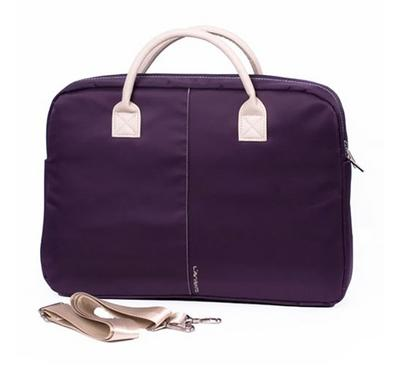 Lavvento Female Nylon Bag fits up to 15.6 inch, Purple