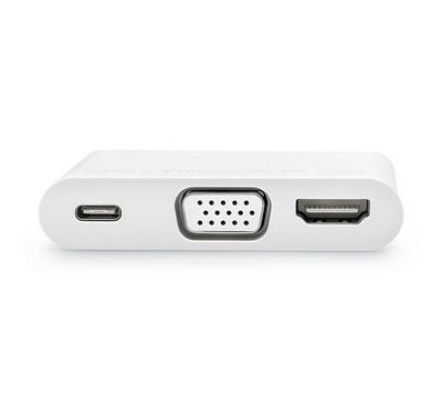 HUAWEI MateDock 2, Adapter to HDMI, VGA, USB-A and USB-C, AV Adapter