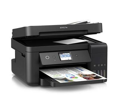 Epson AIO Color Ink Tank Printer With ADF WiFi 15ipm Black
