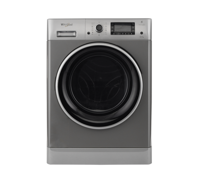 Whirlpool Front Load Washer/Dryer, 10Kg , Dryer 7kg, Silver
