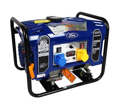 Ford 15.0L 7Hp Portable Gasoline Power Generator 2800W Blue