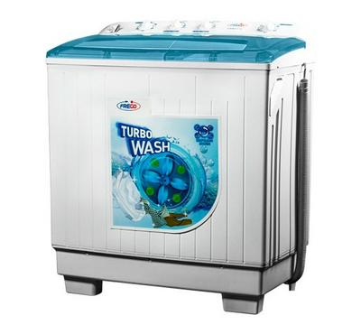 Frego Twin Tub Semi Automatic Washing Machine , 10kg, White
