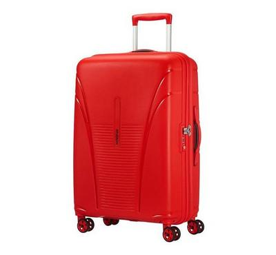American Tourister Skytracer SP 68CM Luggage Carry Trolley Red