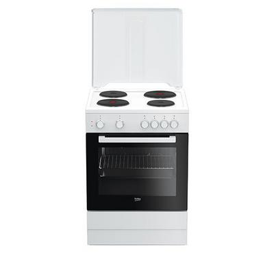 Beko Electric Cooker, 60X60 Turbo Oven 4 HP White Metal Toplid, White