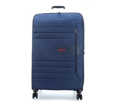 American Tourister Sonic Surfer 68CM Luggage Carry Trolley Navy Blue