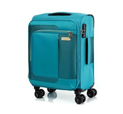 ‎American Tourister Sens SP 55CM Cabin Carry Trolley Turquoise Yellow