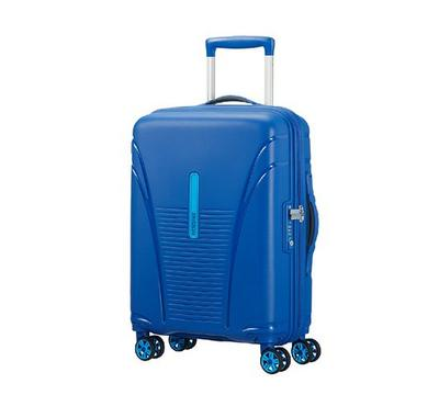 American Tourister Skytracer SP 55CM Cabin Carry Trolley Blue